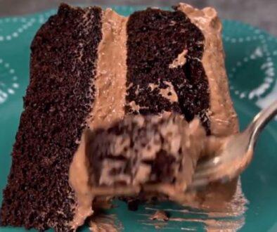 מתכון עוגת שוקולד ללא סוכר - עוגת שוקולד שכבות